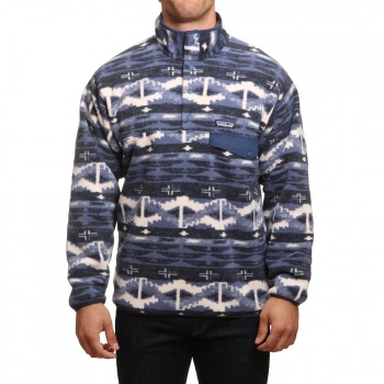 Patagonia Patagonia Synchilla Snap-T Pullover Stone Blue