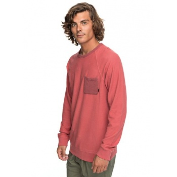 Quiksilver QUIKSILVER BAAO-SWEATSHIRT FOR MEN-PINK