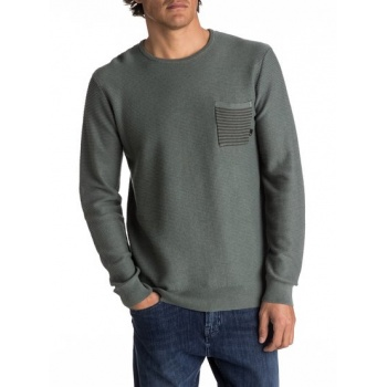 Quiksilver QUIKSILVER BAGGAO-POCKET JUMPER FOR MEN-GREEN