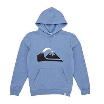 Quiksilver QUIKSILVER BIG LOGO HOODIE BRIGHT COBALT HEATHER