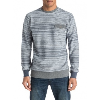 Quiksilver QUIKSILVER CARSON THREES-SWEATSHIRT FOR MEN-BLACK