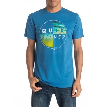 Quiksilver QUIKSILVER CLASSIC BLAZED-T-SHIRT FOR MEN-BLUE