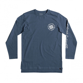 Quiksilver QUIKSILVER CRITICAL DATE LONG SLEEVE T-SHIRT REAL TEAL