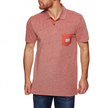 Quiksilver QUIKSILVER CRUZL POLO SHIRT MINERAL RED