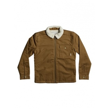 Quiksilver QUIKSILVER DABEIN-JACKET FOR BOYS 8-16-BROWN
