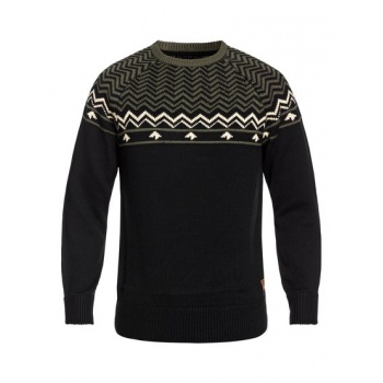 Quiksilver QUIKSILVER DUDE-TECHNICAL KNITTED JUMPER FOR MEN-BLACK