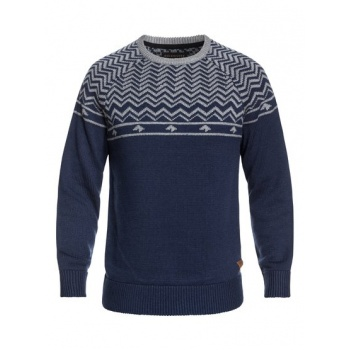 Quiksilver QUIKSILVER DUDE-TECHNICAL KNITTED JUMPER FOR MEN-BLUE