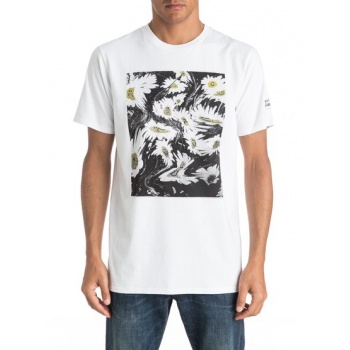 Quiksilver QUIKSILVER EARTHLY DELIGHTS-T-SHIRT FOR MEN-WHITE
