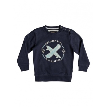 Quiksilver QUIKSILVER EAT AND RIDE-SWEATSHIRT FOR BOYS 2-7-BLUE