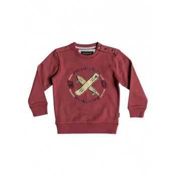 Quiksilver QUIKSILVER EAT AND RIDE-SWEATSHIRT FOR BOYS 2-7-RED