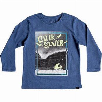 Quiksilver QUIKSILVER ELECTRIC-LONG SLEEVE T-SHIRT FOR BOYS 2-7-BLUE