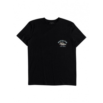 Quiksilver QUIKSILVER FISH AND CHICKS-T-SHIRT FOR MEN-BLACK