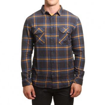 Quiksilver Quiksilver Fitz Forktail Shirt Tarmac