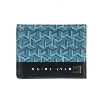 Quiksilver QUIKSILVER FRESHNESS-BI-FOLD WALLET-BLUE