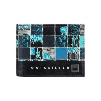 Quiksilver QUIKSILVER FRESHNESS-BI-FOLD WALLET FOR MEN-BLUE