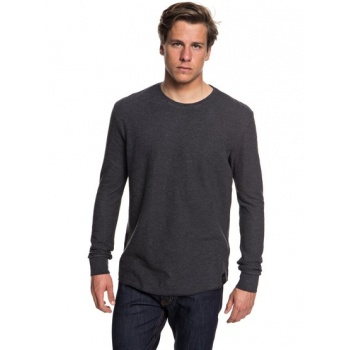 Quiksilver QUIKSILVER HAKONE SPRING-SWEATSHIRT FOR MEN-BLACK