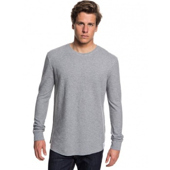 Quiksilver QUIKSILVER HAKONE SPRING-SWEATSHIRT FOR MEN-GREY
