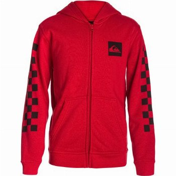 Quiksilver QUIKSILVER HOOD ZIP GOOD YOUTH H6-ZIP-UP HOODIE FOR BOYS-RED