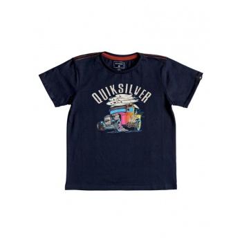 Quiksilver QUIKSILVER HOT ROD-T-SHIRT FOR BOYS 2-7-BLUE