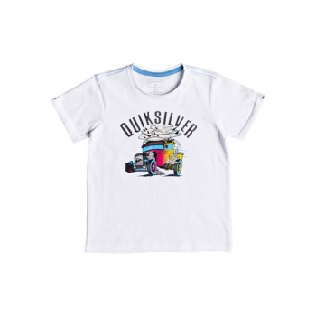 Quiksilver QUIKSILVER HOT ROD-T-SHIRT FOR BOYS 2-7-WHITE
