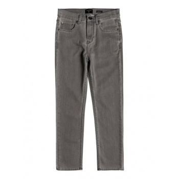Quiksilver QUIKSILVER IBARAKI CEMENT WASH-STRAIGHT FIT ANKLE LENGTH JEANS FOR BOYS 8-16-BLACK