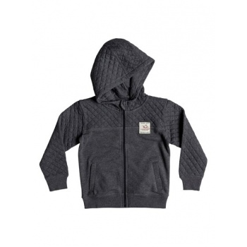 Quiksilver QUIKSILVER JAPARI PARK-ZIP-UP HOODIE FOR BOYS 2-7-BLACK