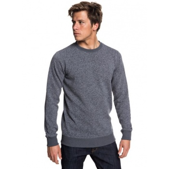 Quiksilver QUIKSILVER KELLER-POLAR FLEECE SWEATSHIRT FOR MEN-BLACK
