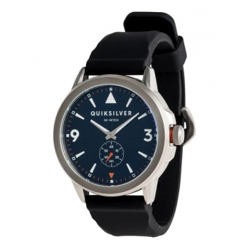 Quiksilver QUIKSILVER KOMBAT SILICONE-ANALOGUE WATCH FOR MEN-BLUE