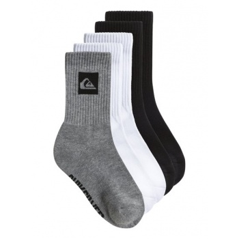 Quiksilver QUIKSILVER LEGACY CREW 5 PACK-COTTON CREW SOCKS FOR BOYS-MULTICOLOR