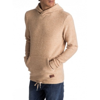 Quiksilver QUIKSILVER LUPAO-HOODED JUMPER FOR MEN-BEIGE
