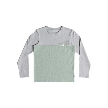 Quiksilver QUIKSILVER LYA BASE-LONG SLEEVE T-SHIRT FOR BOYS 8-16-GREY