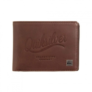 Quiksilver Quiksilver Mack III L Wallet Chocolate