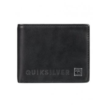 Quiksilver QUIKSILVER MACK VI-BI-FOLD WALLET FOR MEN-BLACK