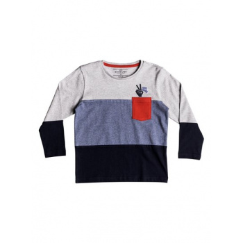 Quiksilver QUIKSILVER MAJESTIC QASI-LONG SLEEVE T-SHIRT FOR BOYS 2-7-BLUE