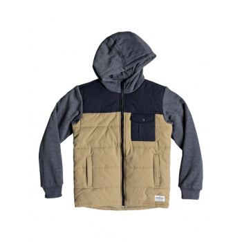 Quiksilver QUIKSILVER OHA YOU-HOODED JACKET FOR BOYS 8-16-BROWN