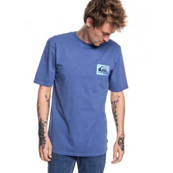 Quiksilver QUIKSILVER ORIGINAL CLASSIC PATCH-T-SHIRT FOR MEN-BLUE