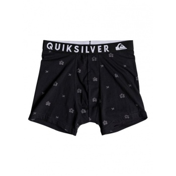 Quiksilver QUIKSILVER POSTER-BOXER BRIEFS FOR MEN-BLACK