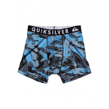 Quiksilver QUIKSILVER POSTER-BOXER BRIEFS FOR MEN-BLUE