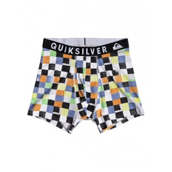 Quiksilver QUIKSILVER POSTER-BOXER BRIEFS FOR MEN-ORANGE