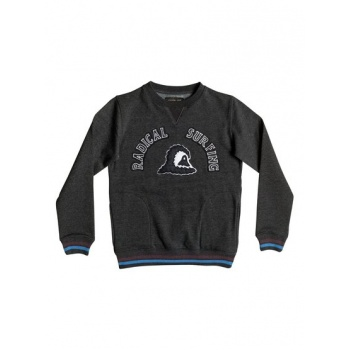Quiksilver QUIKSILVER RADICAL SURFING-SWEATSHIRT FOR BOYS-BLACK