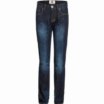 Quiksilver QUIKSILVER REVOLVER DARK VINTAGE AW YOUTH-5-POCKET JEANS FOR BOYS-BLUE
