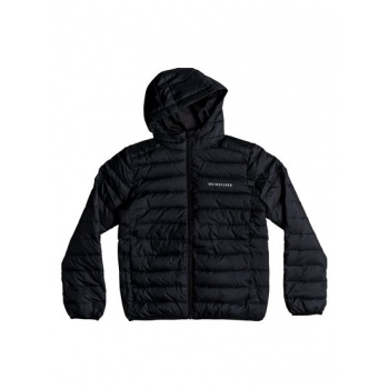 Quiksilver QUIKSILVER SCALY-WATER-RESISTANT PUFFER JACKET FOR BOYS 8-16-BLACK