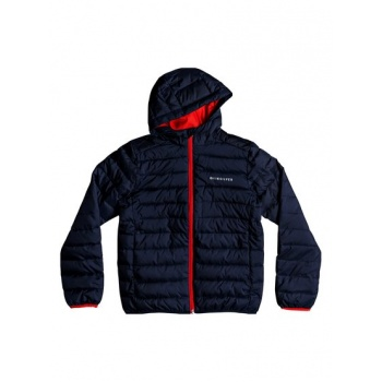 Quiksilver QUIKSILVER SCALY-WATER-RESISTANT PUFFER JACKET FOR BOYS 8-16-BLUE