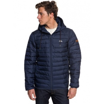 Quiksilver QUIKSILVER SCALY-WATER-RESISTANT PUFFER JACKET FOR MEN-BLUE