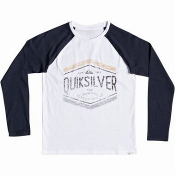Quiksilver QUIKSILVER SKETCHY MEMBER-LONG SLEEVE T-SHIRT FOR BOYS 8-16-BLUE