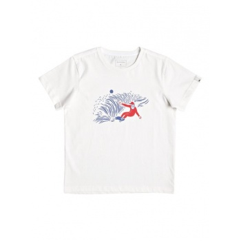 Quiksilver QUIKSILVER SNOW MAN SHRED-T-SHIRT FOR BOYS 2-7-WHITE