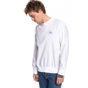 Quiksilver QUIKSILVER SUN GAZE-SWEATSHIRT FOR MEN-WHITE