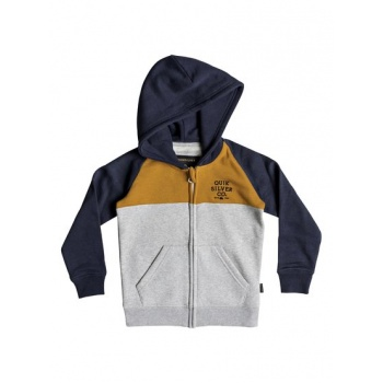 Quiksilver QUIKSILVER SUN MELT-ZIP-UP HOODIE FOR BOYS 2-7-ORANGE
