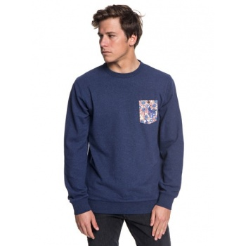 Quiksilver QUIKSILVER TAKAO MAN-SWEATSHIRT FOR MEN-BLUE