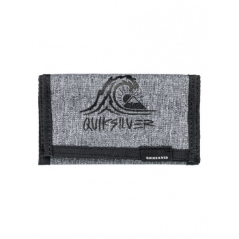 Quiksilver QUIKSILVER THE EVERYDAILY-TRI-FOLD WALLET-BLACK